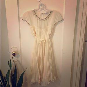 Ted Baker gorgeous cream dress